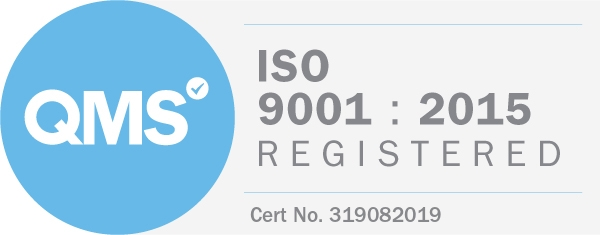 ISO 9001:2015 Registered - Cert No.319082019